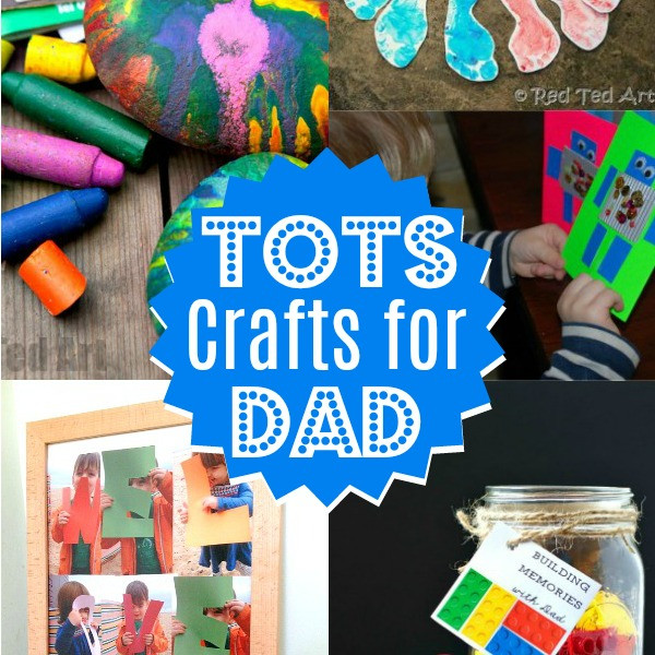 Father'S Day Craft Ideas For Preschoolers  Preschool Father s Day Craft Ideas Red Ted Art Make