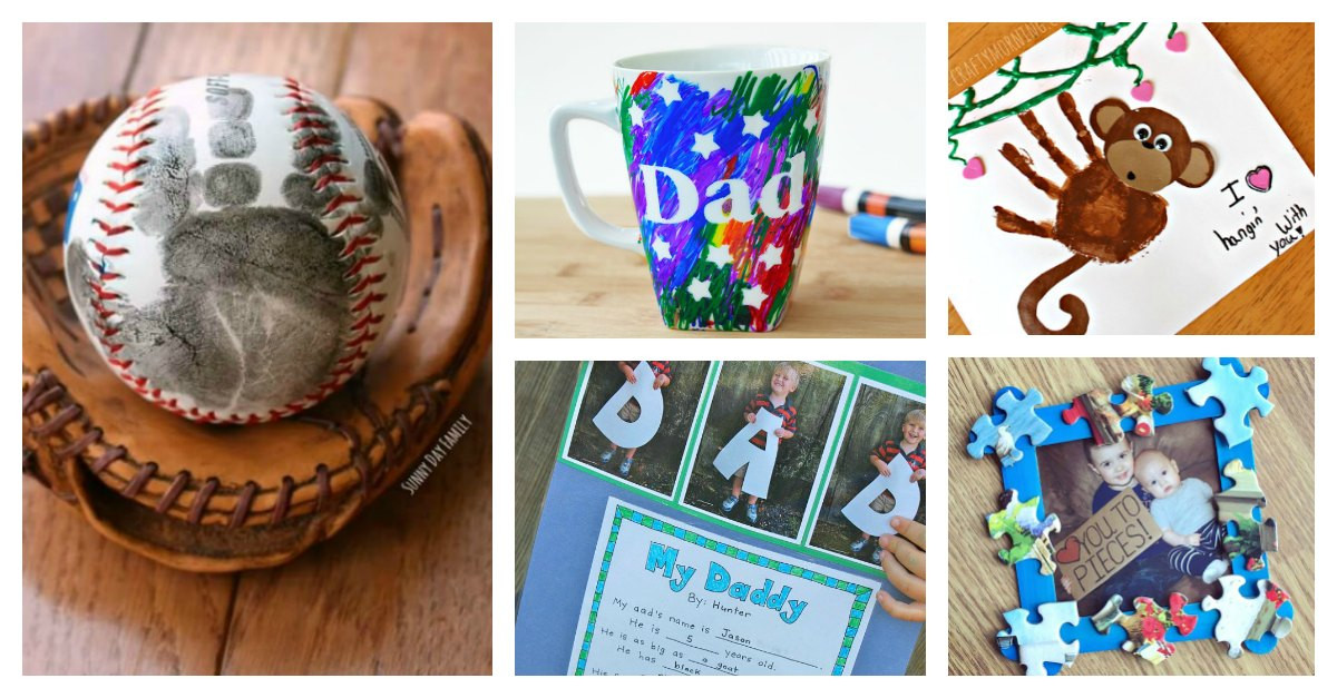 Father'S Day Craft Ideas For Preschoolers  12 Easy Fathers Day Crafts For Preschoolers To Make