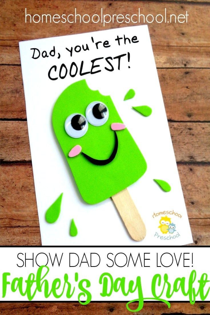 Father'S Day Craft Ideas For Preschoolers  Easy DIY Fathers Day Craft That Your Kids Can Make