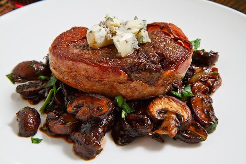 Filet Mignon Side Dishes  Double Smoked Bacon Wrapped Filet Mignon with Caramelized