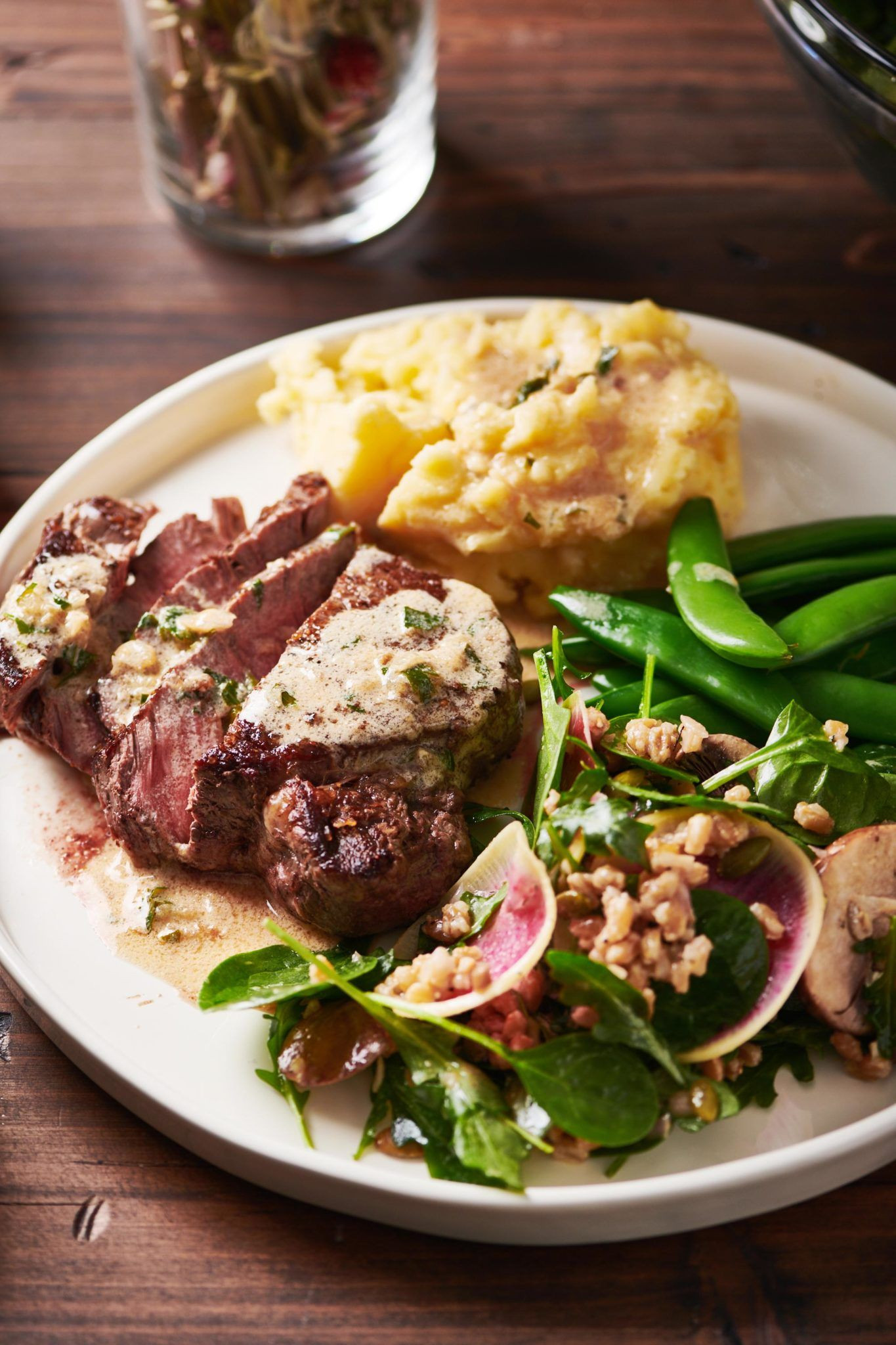 Filet Mignon Side Dishes  Filet Mignon with Creamy Parmesan Mustard Sauce — The Mom