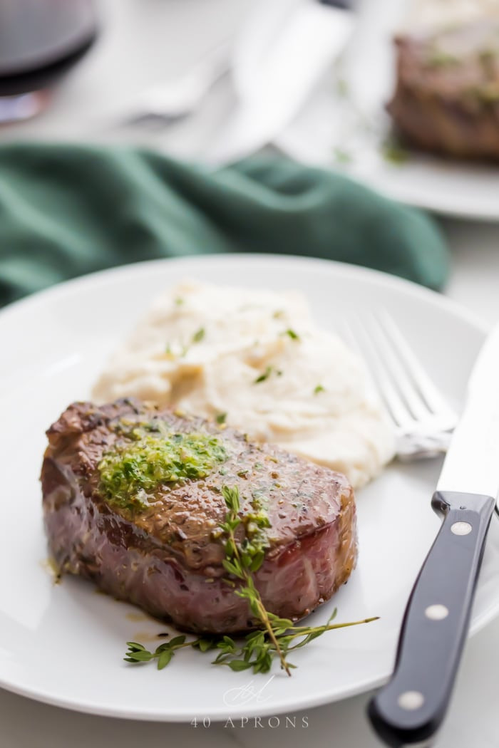 Filet Mignon Side Dishes  The Best Filet Mignon Recipe Ever with Garlic Herb