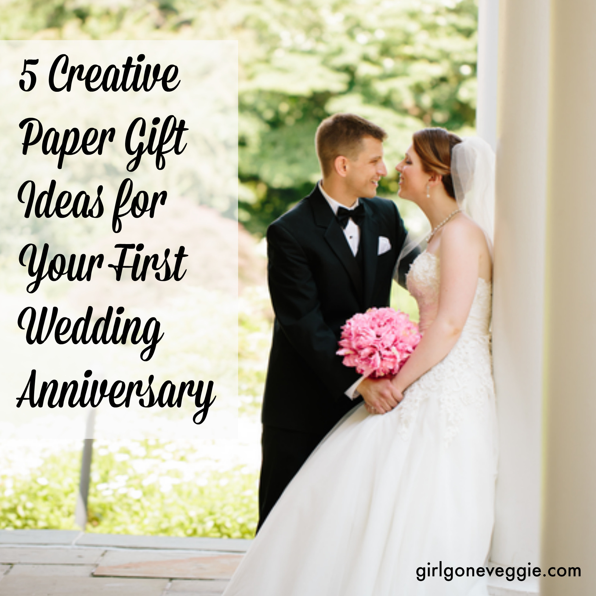 First Anniversary Gift Ideas For Her  5 Creative Paper Gift Ideas for Your 1st Wedding Anniversary