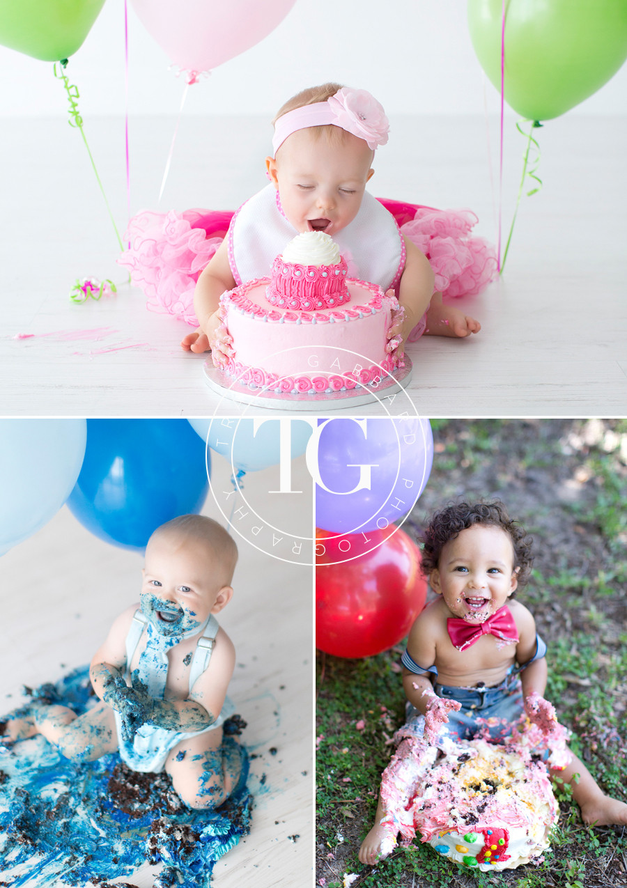 First Birthday Cake Smash  First Birthday Cake Smash Sessions in Tampa