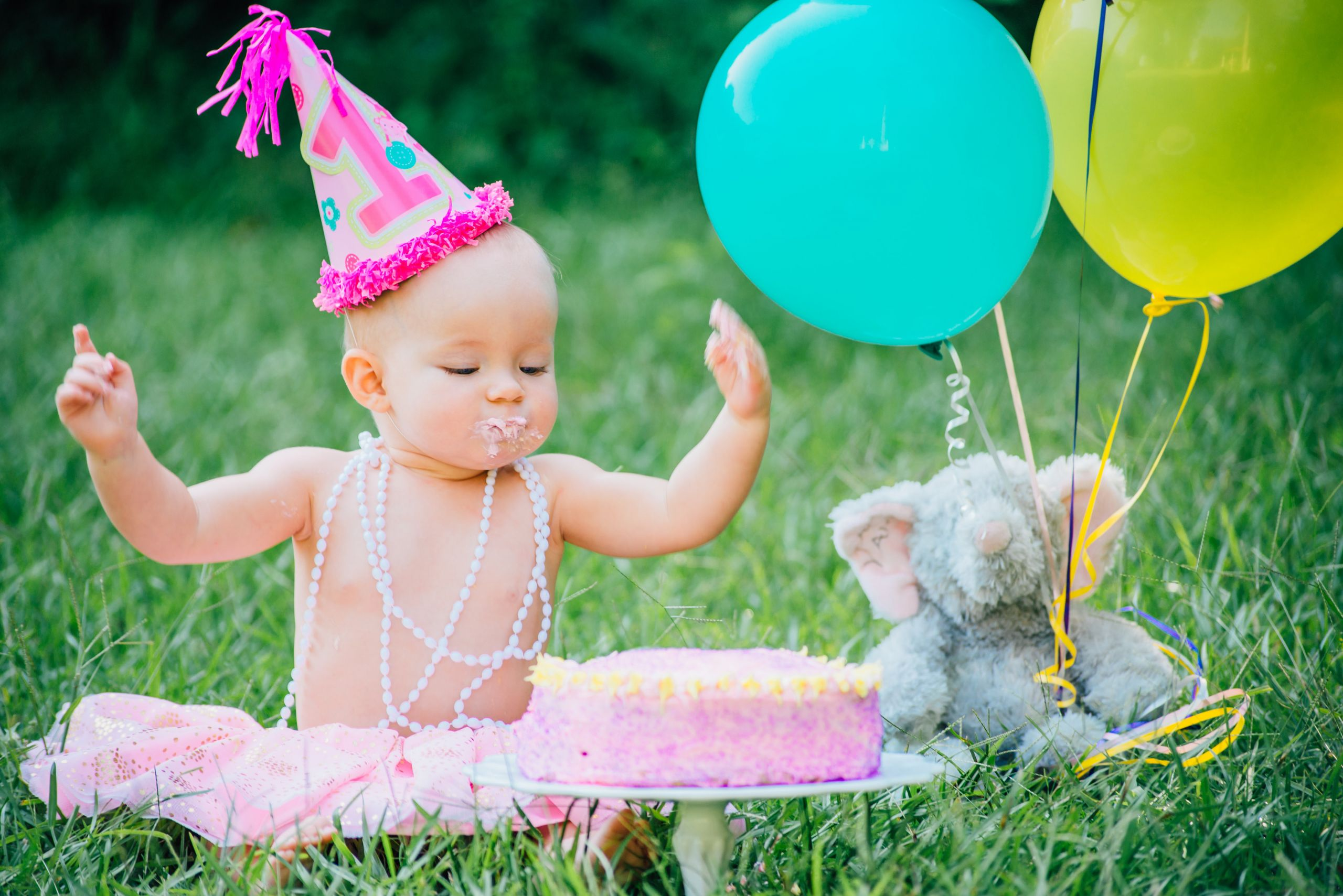 First Birthday Cake Smash  Baby s 1st Birthday Cake Ashley Sweeney RD