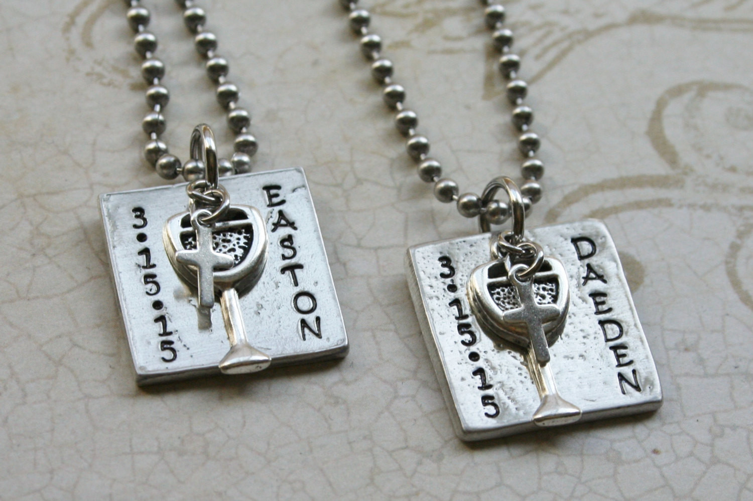 First Communion Gift Ideas Boys  First munion Necklace for Boys Gift First munion