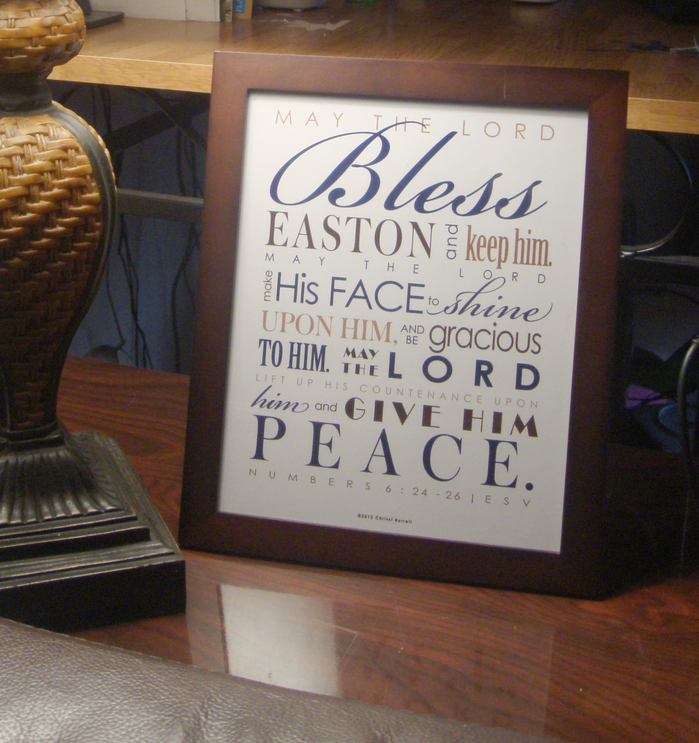 First Communion Gift Ideas Boys  Baptism Gift First munion Gift Framed Personalized
