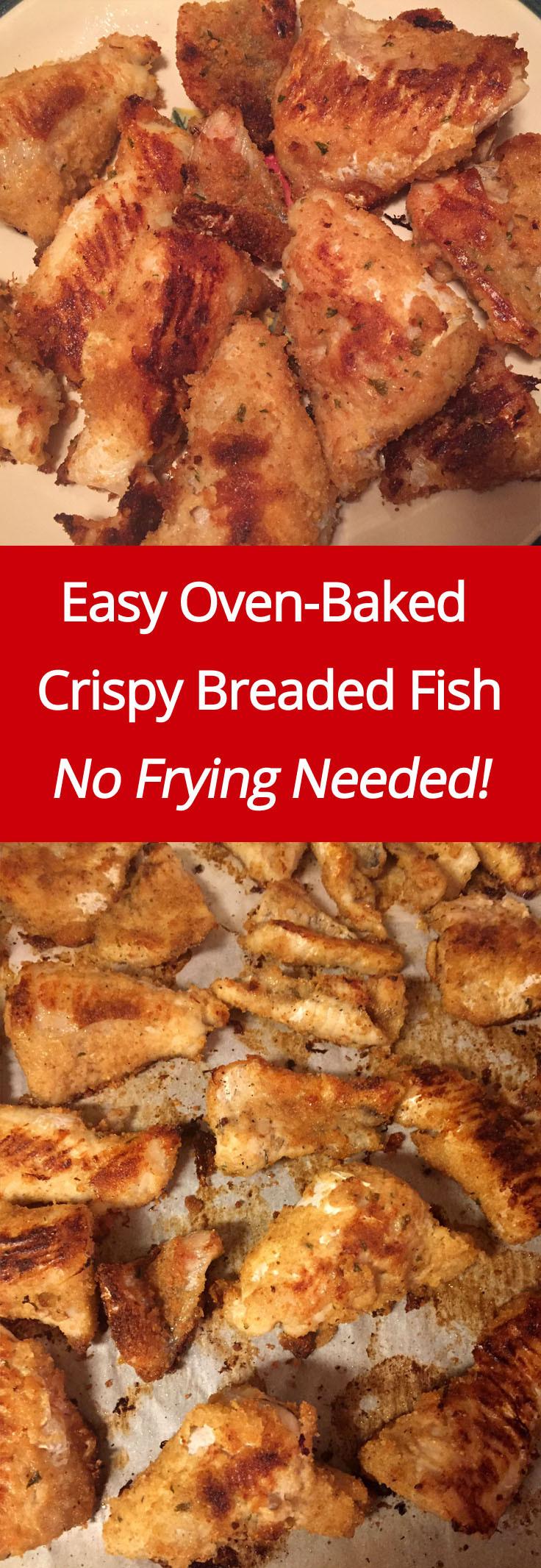 Fish Breading Recipes  Crispy Oven Baked Breaded Fish Recipe – No Frying Needed