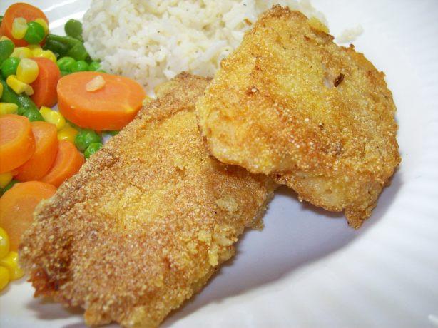 Fish Breading Recipes  Pan Fried Cornmeal Batter Fish Recipe Food