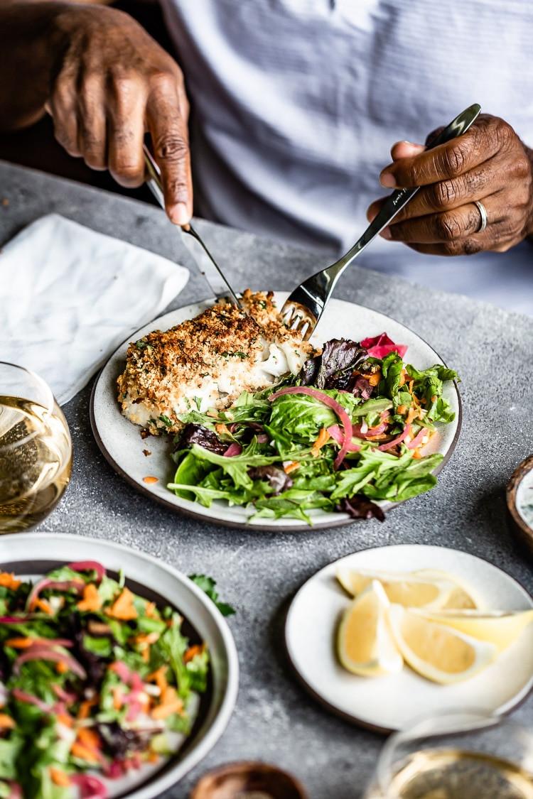 Fish Breading Recipes  Baked Crunchy Breaded Fish Recipe Foolproof Living