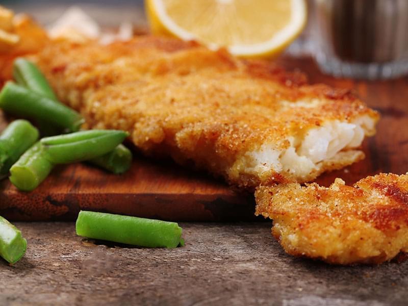 Fish Breading Recipes  Breaded Fish Fillets