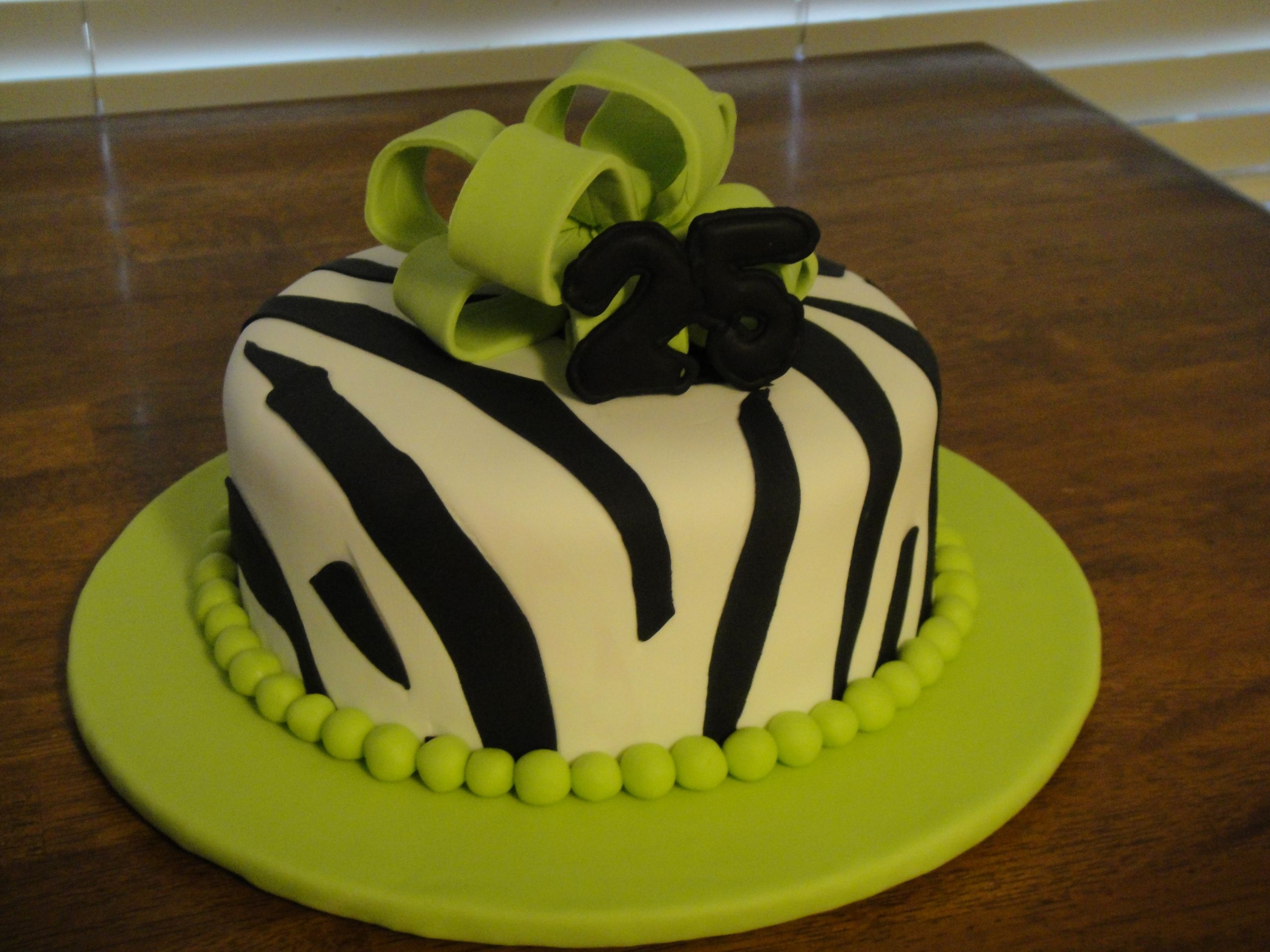 Fondant Birthday Cakes  Fondant Birthday Cakes