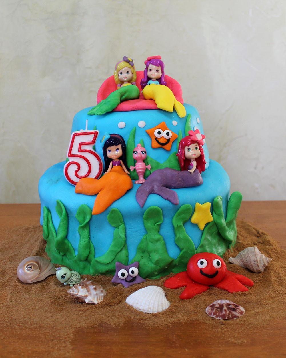 Fondant Birthday Cakes  girls fondant birthday cakes
