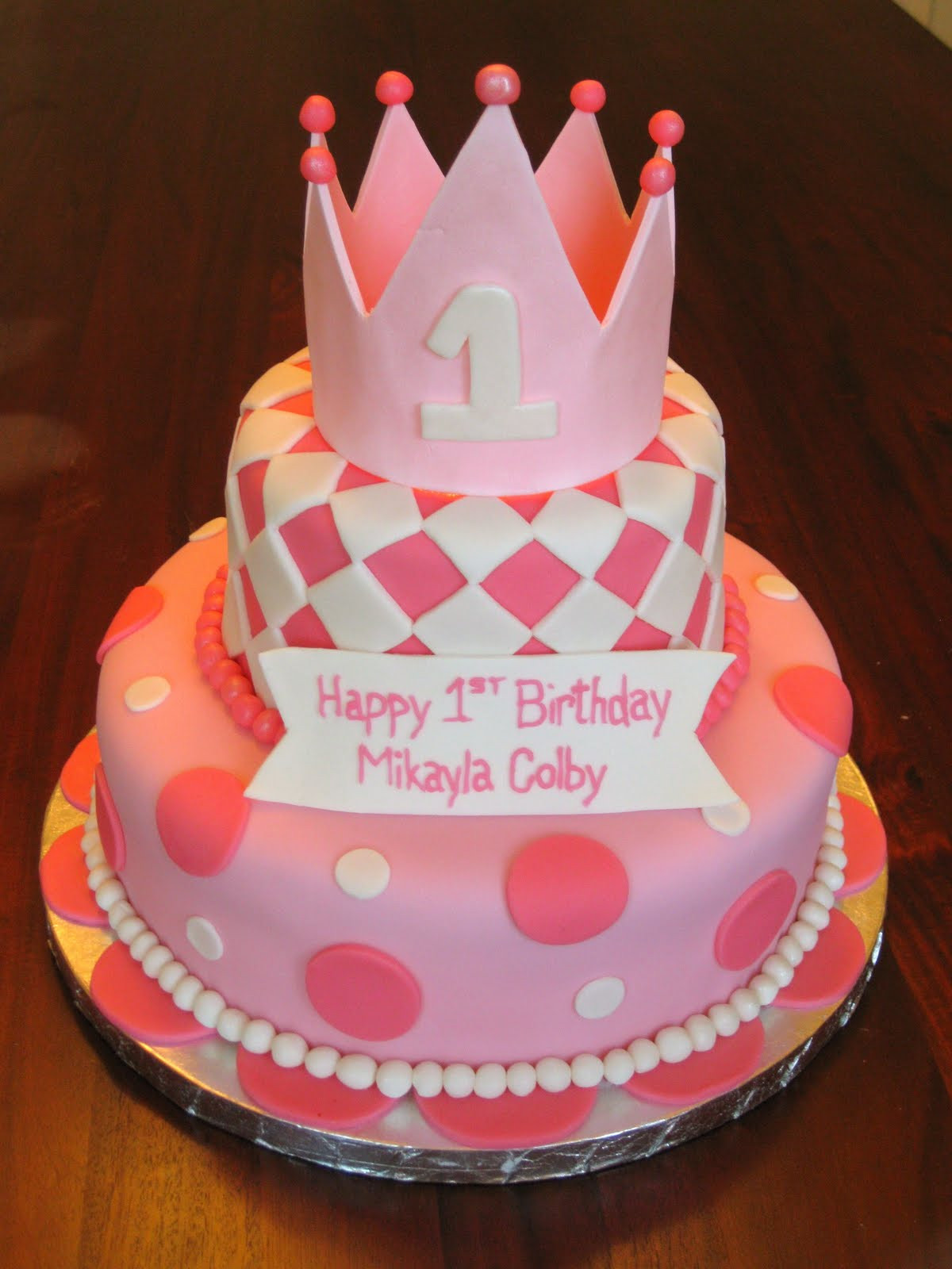 Fondant Birthday Cakes  Fun Fondant Cakes I love looking at colorful cakes