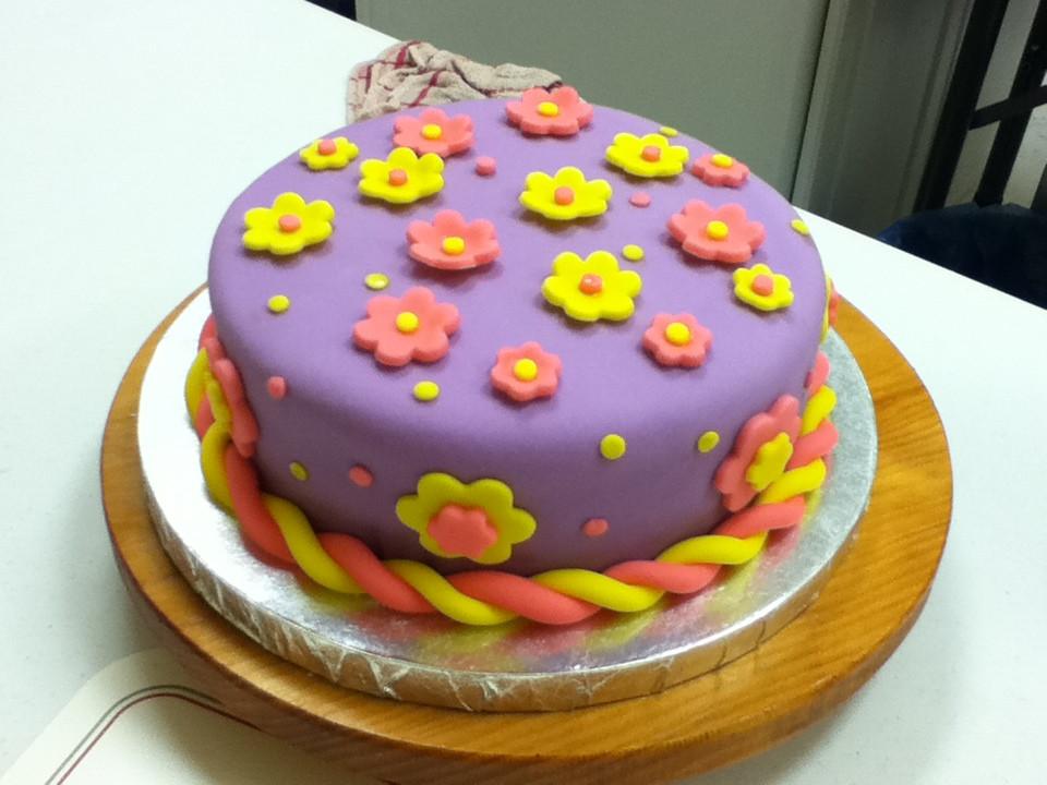 Fondant Birthday Cakes  June is here