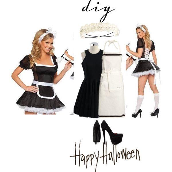 French Maid Costume DIY  French maid DIY