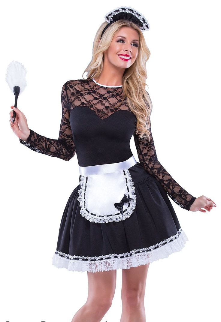 French Maid Costume DIY  39 best French maid images on Pinterest