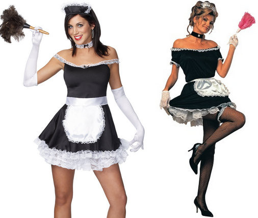 French Maid Costume DIY  Colored Gloves Add the Finishing Touch to Any Halloween