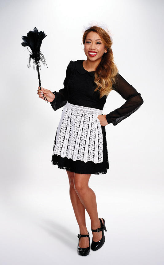 French Maid Costume DIY  French Maid Womens Halloween Costumes