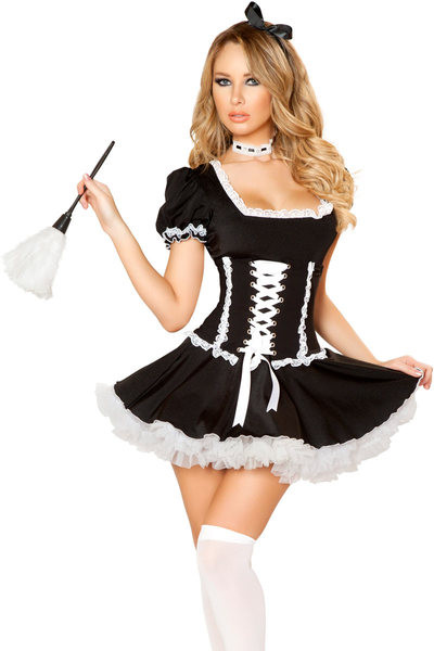 French Maid Costume DIY  Mischievous French Maid Costume Maid Halloween Outfit