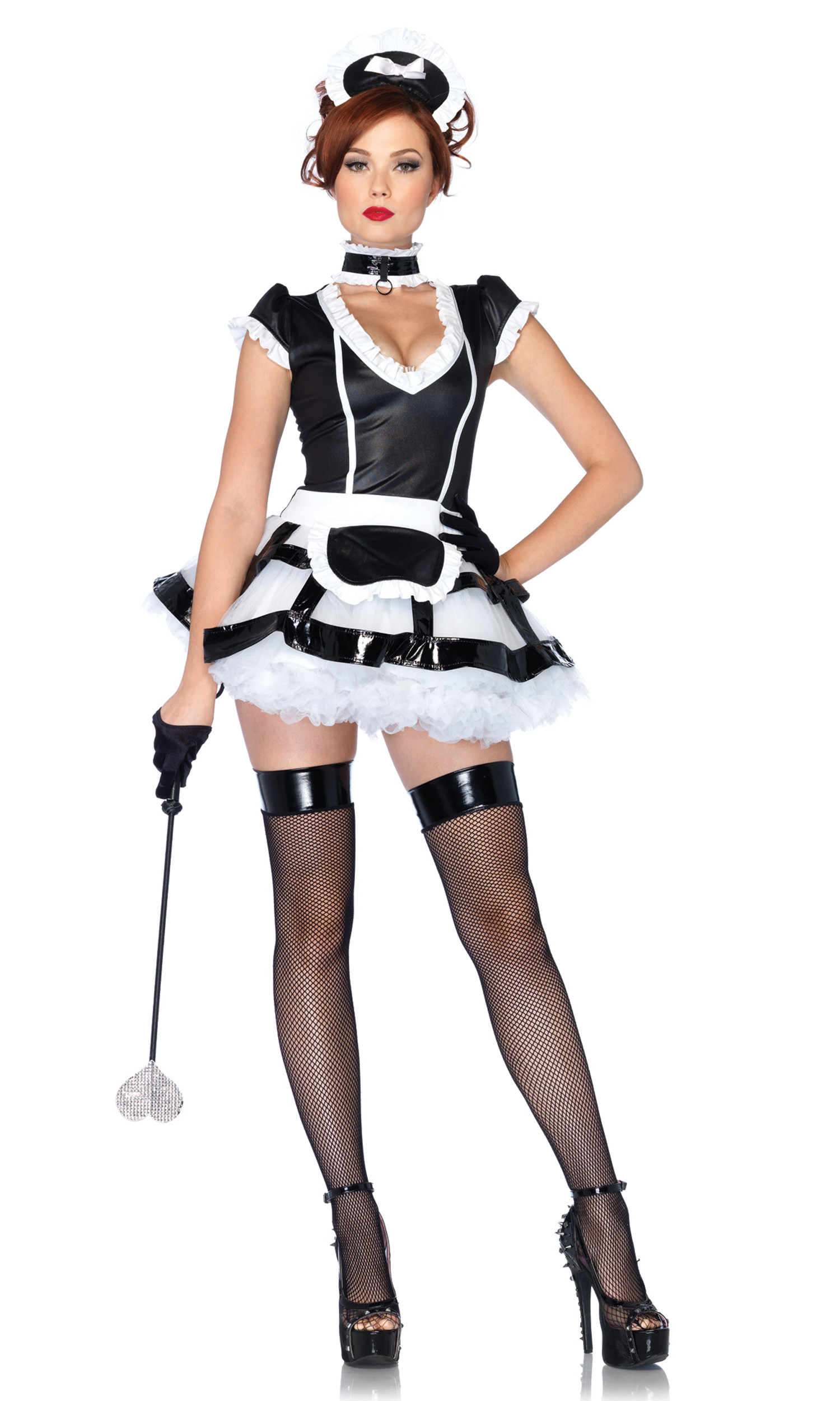 French Maid Costume DIY  Top Seller Mistress Maid French Maid Costume by Leg Avenue