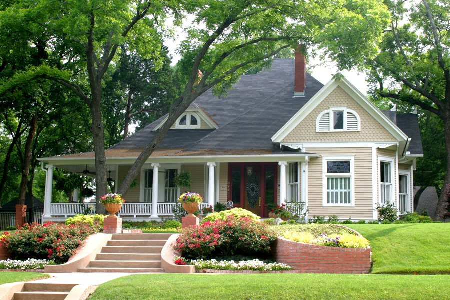 Front Yard Landscape Picture  Front Yard Landscaping Ideas Landscaping Network