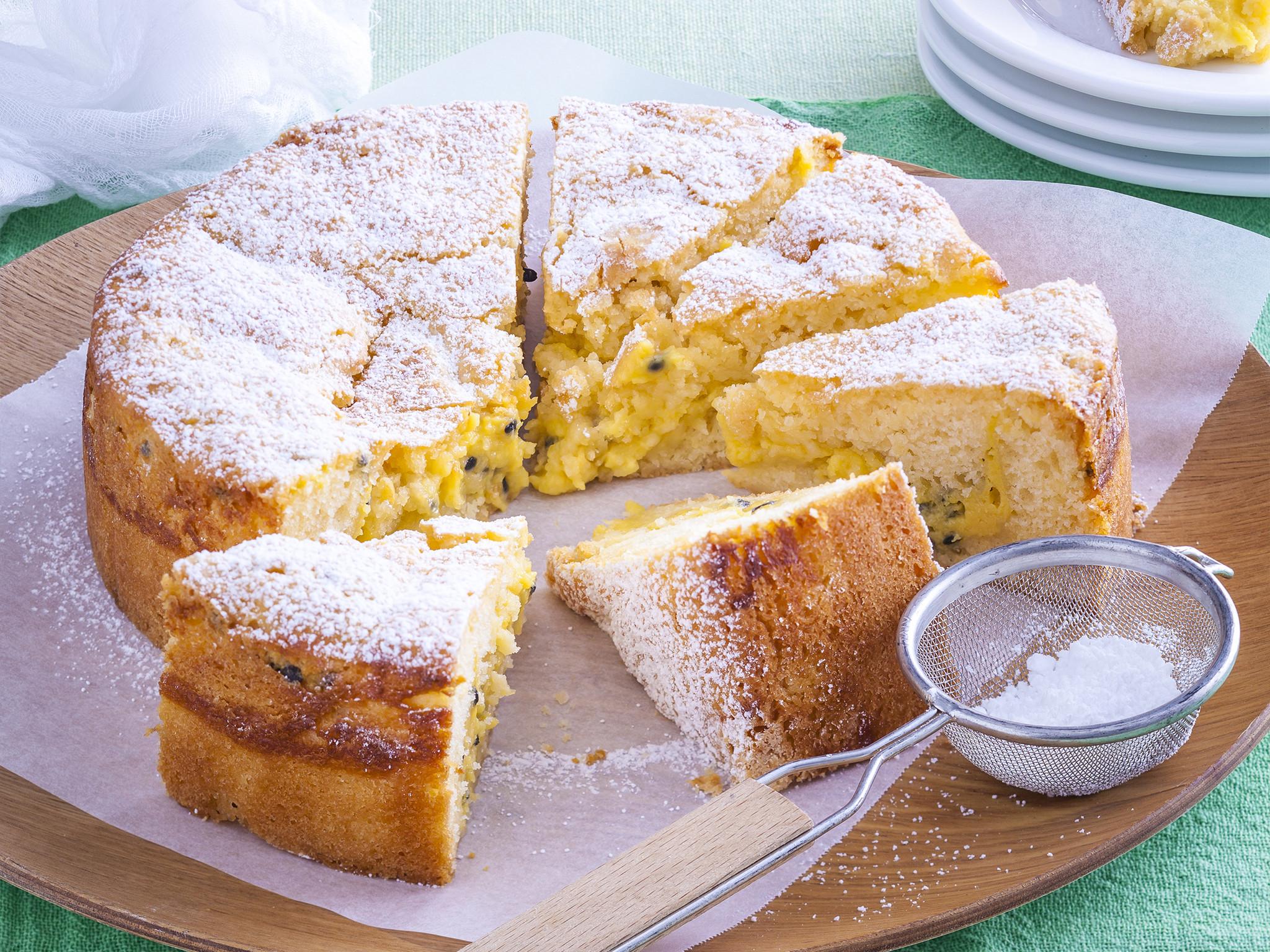 Fruit Cake Recipe Easy  easy passion fruit cake recipe