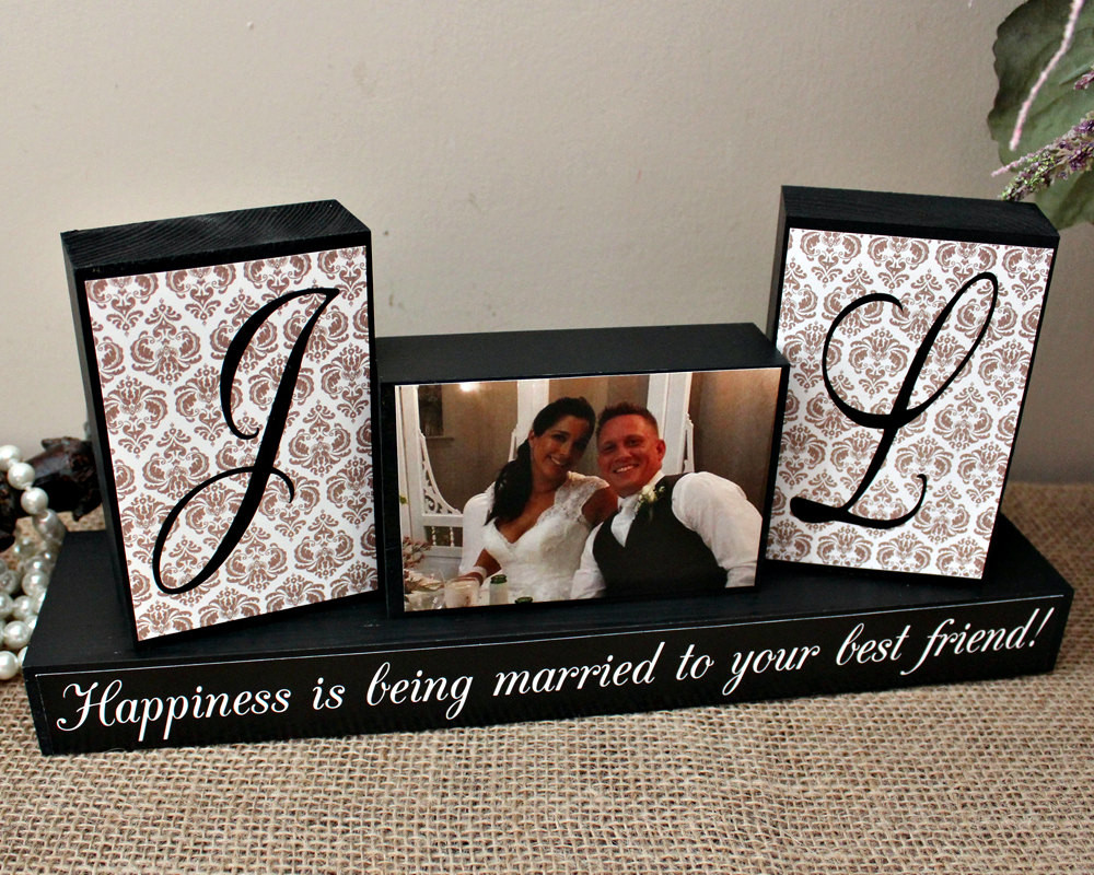 Fun Gift Ideas For Couples  Personalized Unique Wedding Gift for Couples by TimelessNotion