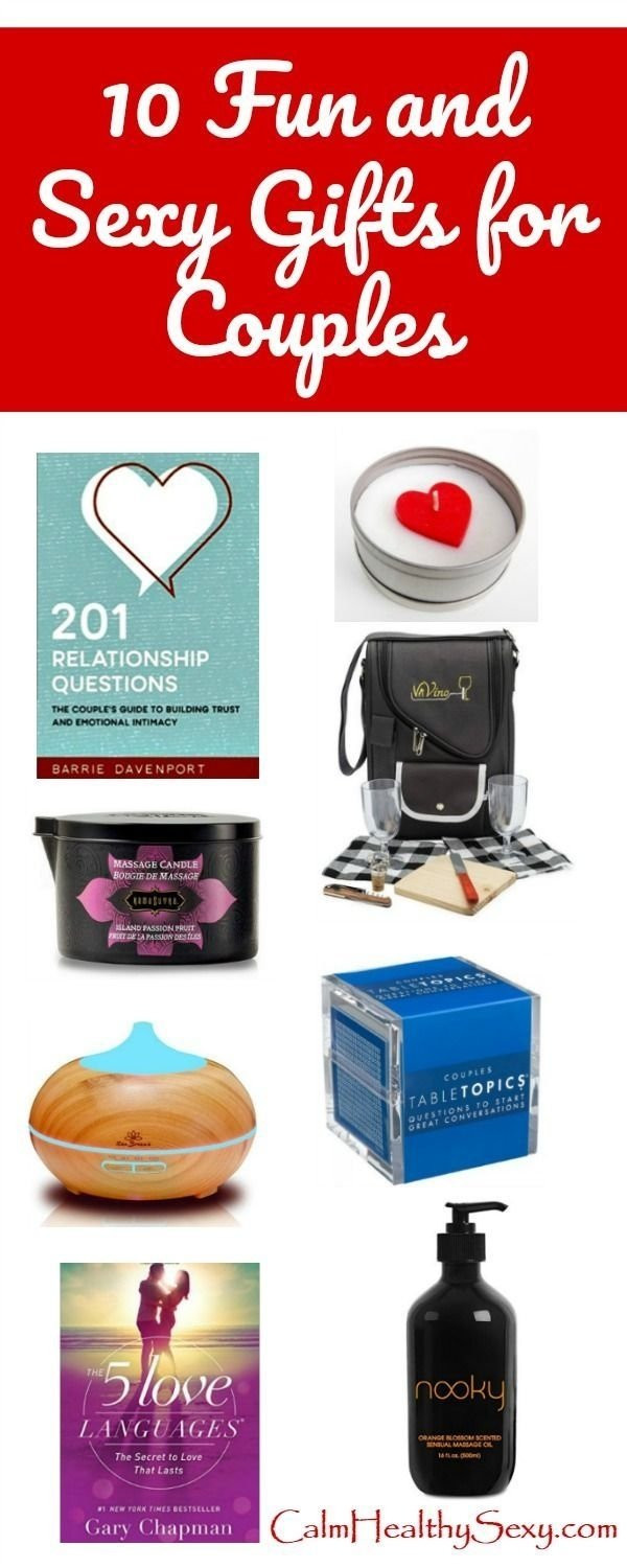 Fun Gift Ideas For Couples  10 Fabulous Gift Ideas For Married Couples 2019