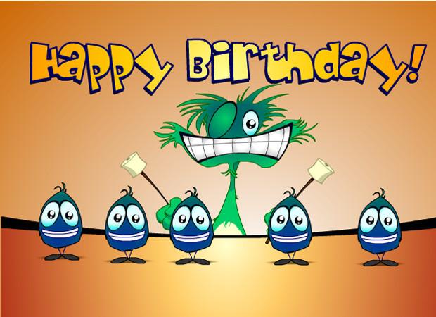 Funny Singing Birthday Cards  vamshi9