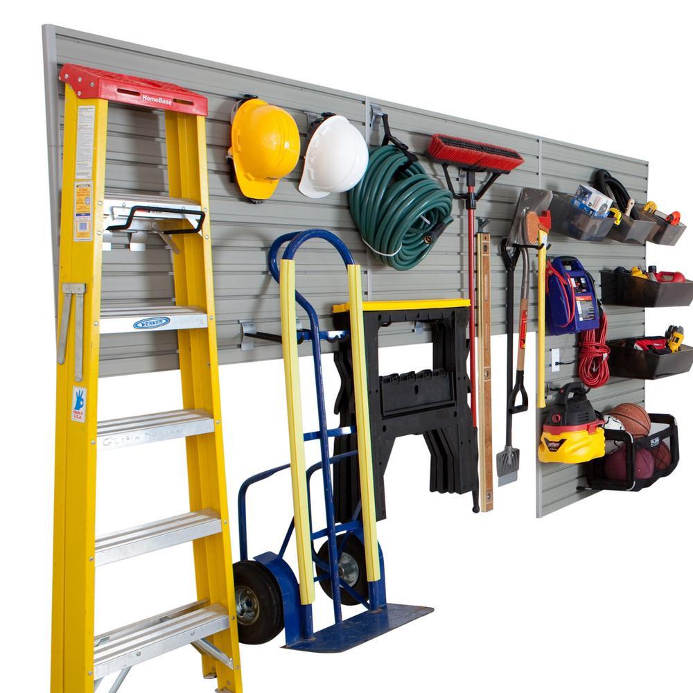 Garage Organization Home Depot  Flow Wall 6 partments Small Part Organizer Modular