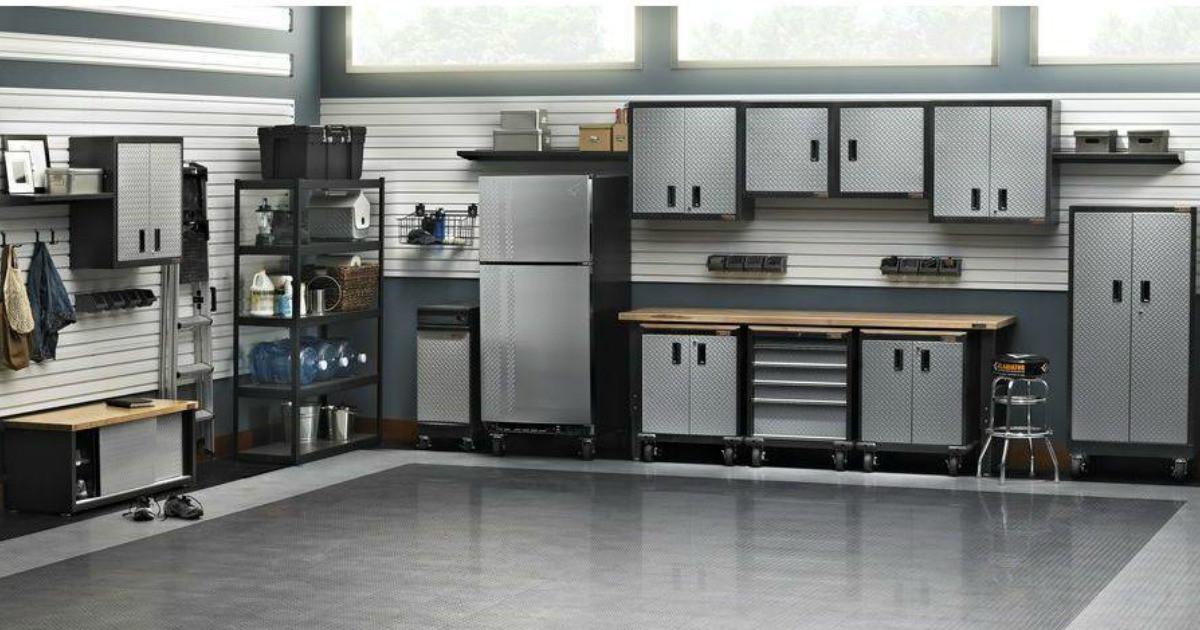 Garage Organization Home Depot  Up to f Garage Storage & Organization Items Free