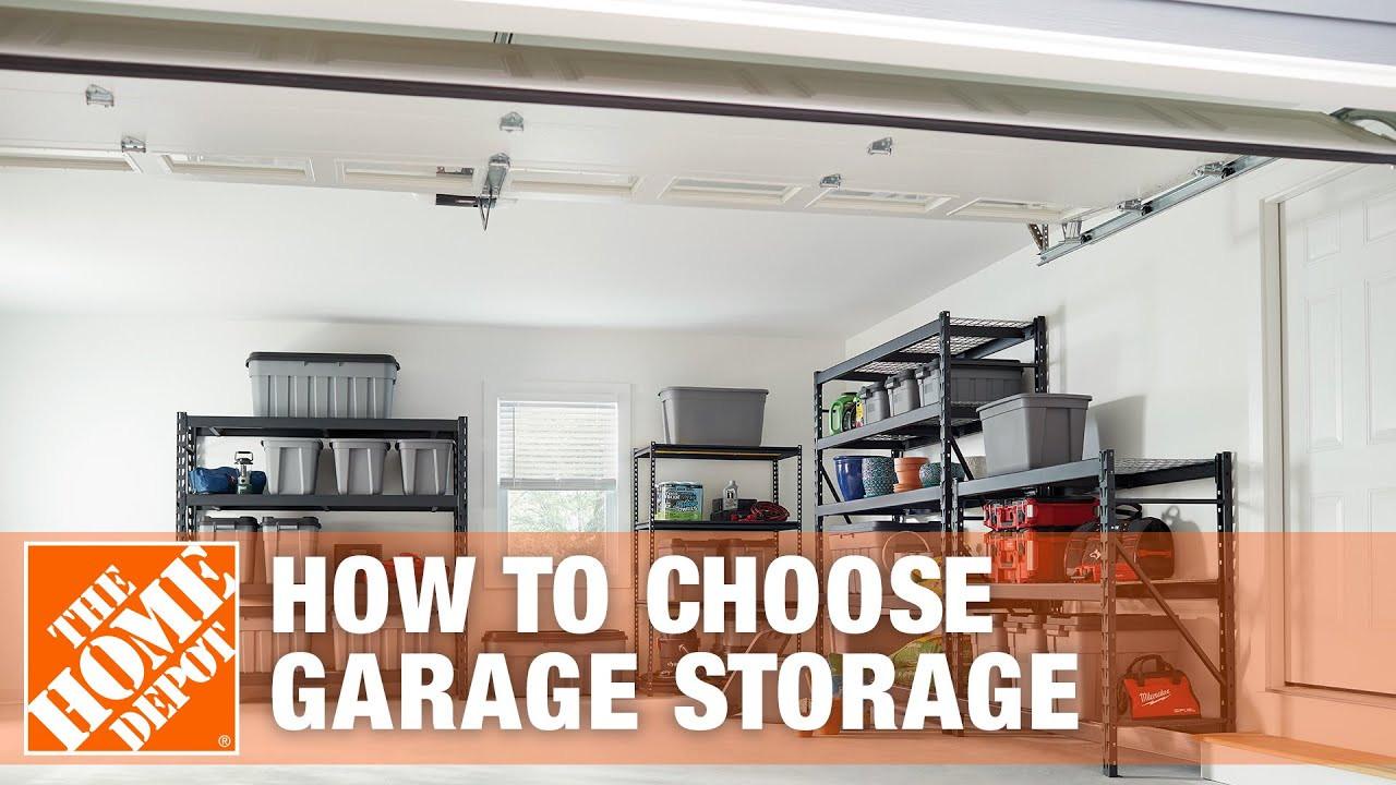 Garage Organization Home Depot  Garage Organization Ideas