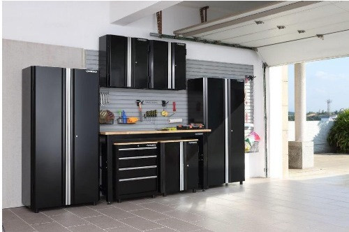 Garage Organization Home Depot  Trending in the Aisles Husky Garage Cabinet Storage