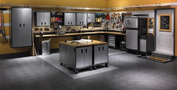 Garage Organization Systems  Garage cabinets – how to choose the best garage storage