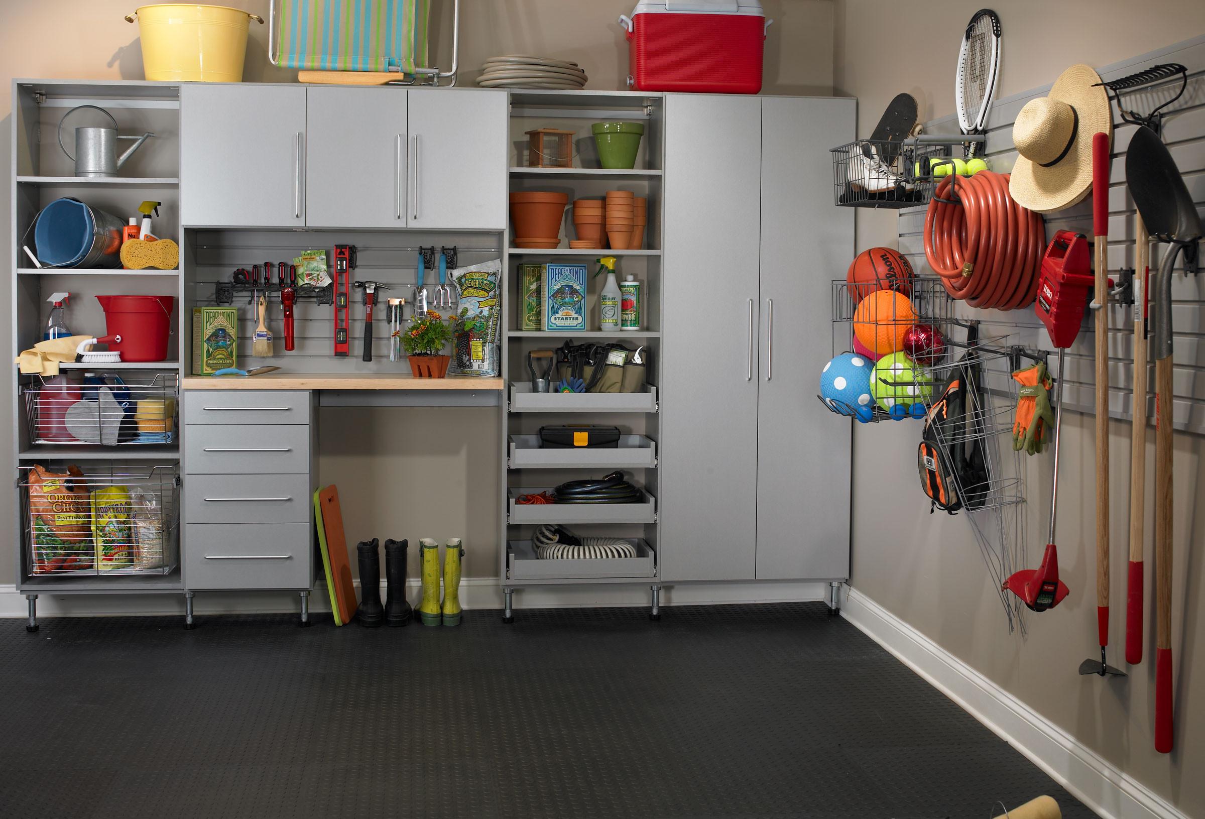 Garage Organization Systems  Garage Storage – Chicagoland Storage Solutions & Window