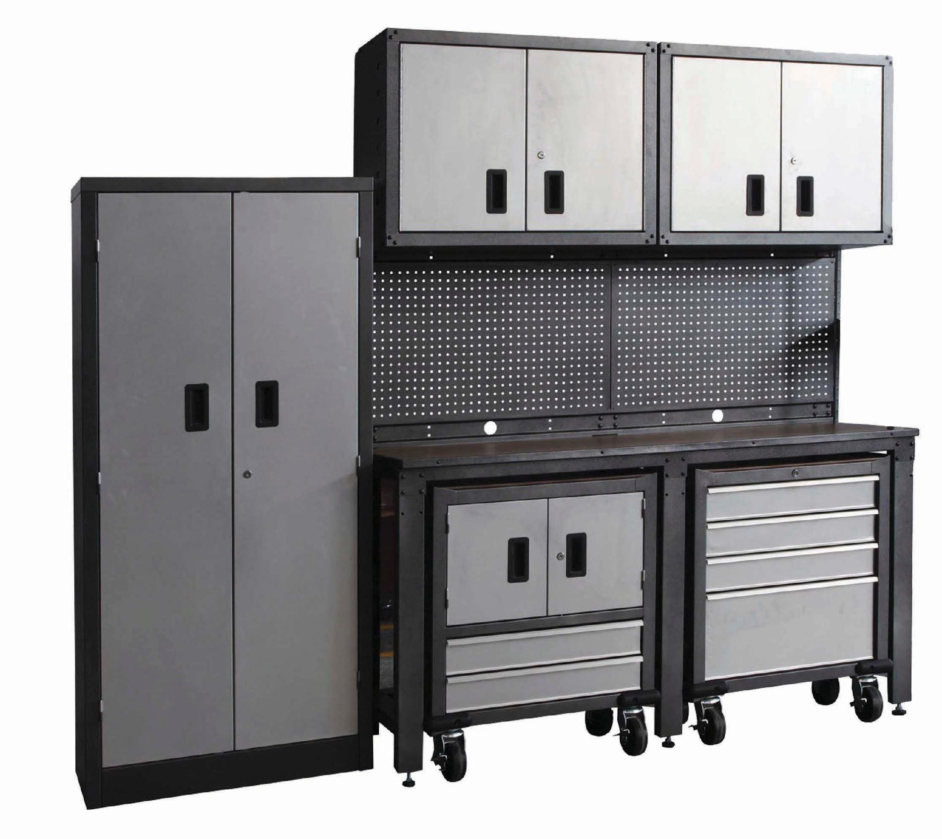 Garage Organization Systems  International 8 piece Garage Modular Storage System PLUS
