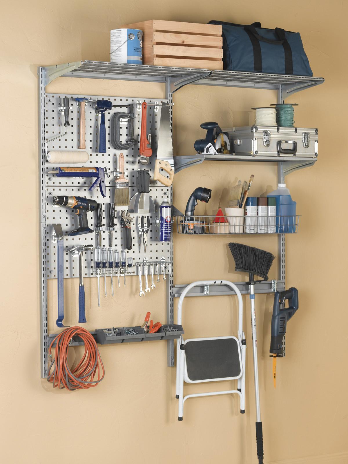 Garage Tool Organizer  Garage Wall Systems to Keep Tools Organized