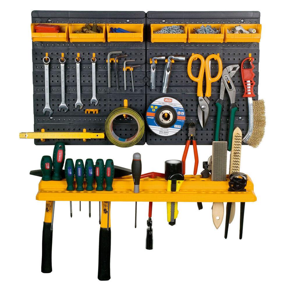 Garage Tool Organizer  Garage Tool Rack Wall Kit Mini Storage Tools Organizer