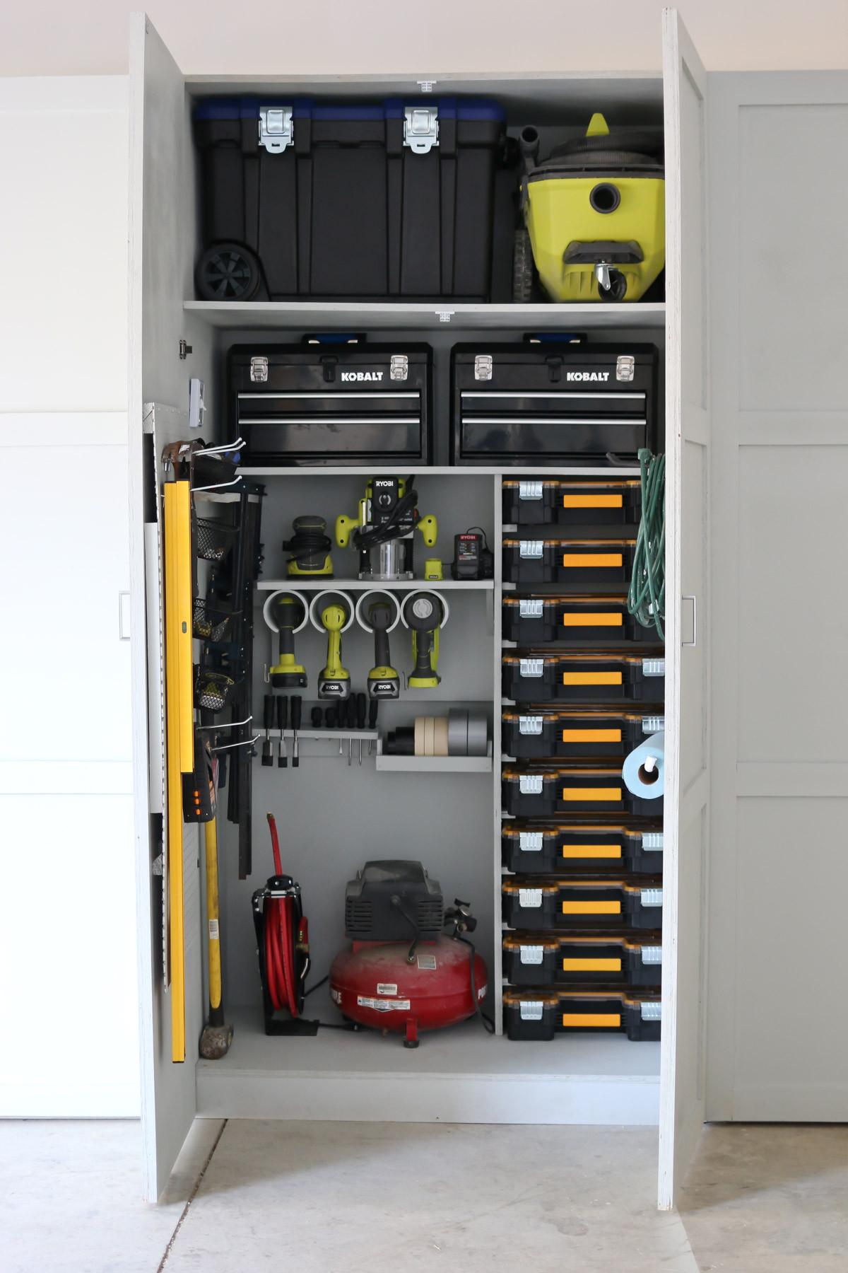 Garage Tool Organizer  Garage Tool Storage and Organization Ideas Tidbits