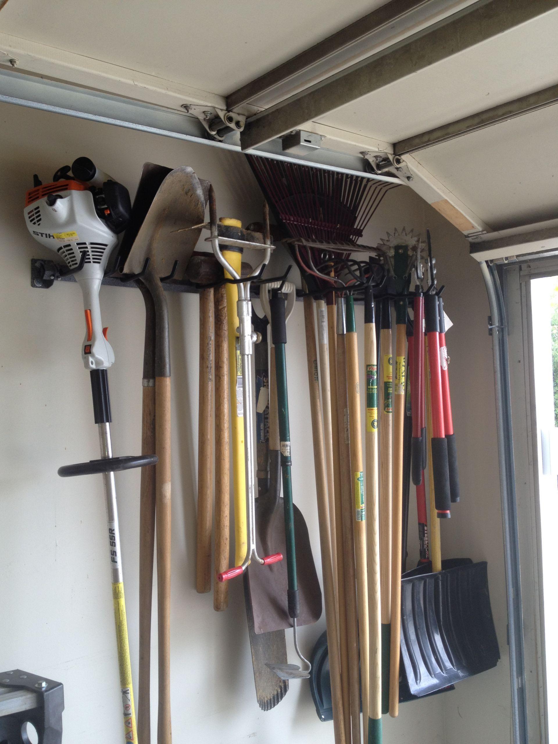 Garage Tool Organizer  Denver Garage Shelving Ideas Gallery
