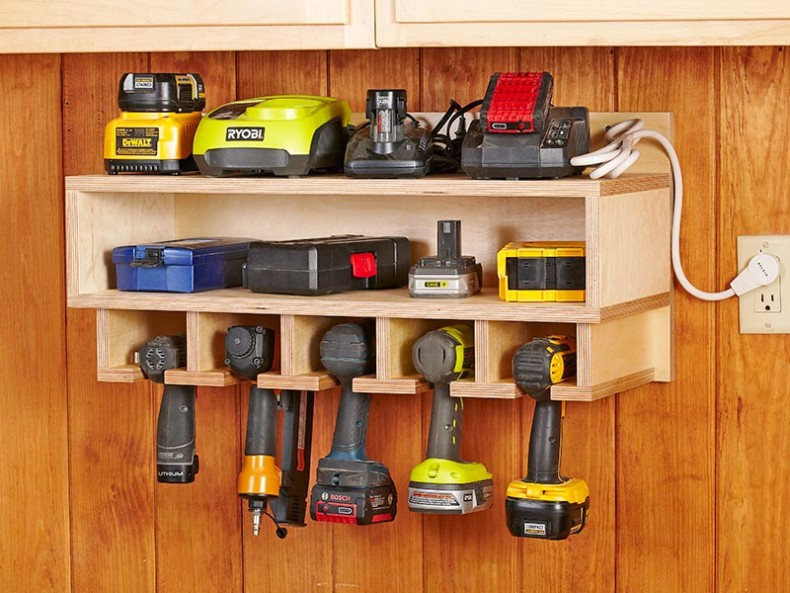 Garage Tool Organizer  16 Brilliant DIY Garage Organization Ideas