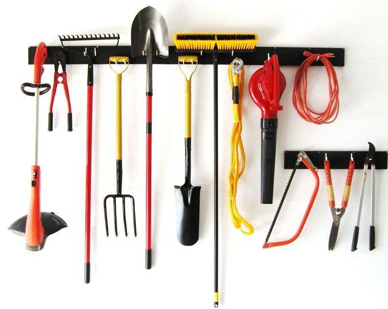 Garage Tool Organizer  Hand & Garden Tool Organizers Pegboard Garage Storage 96