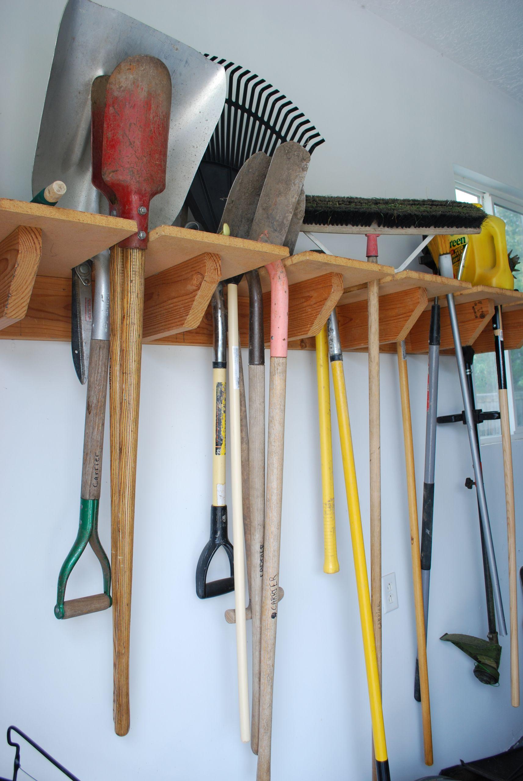 Garage Tool Organizer  a NEW tool organizer