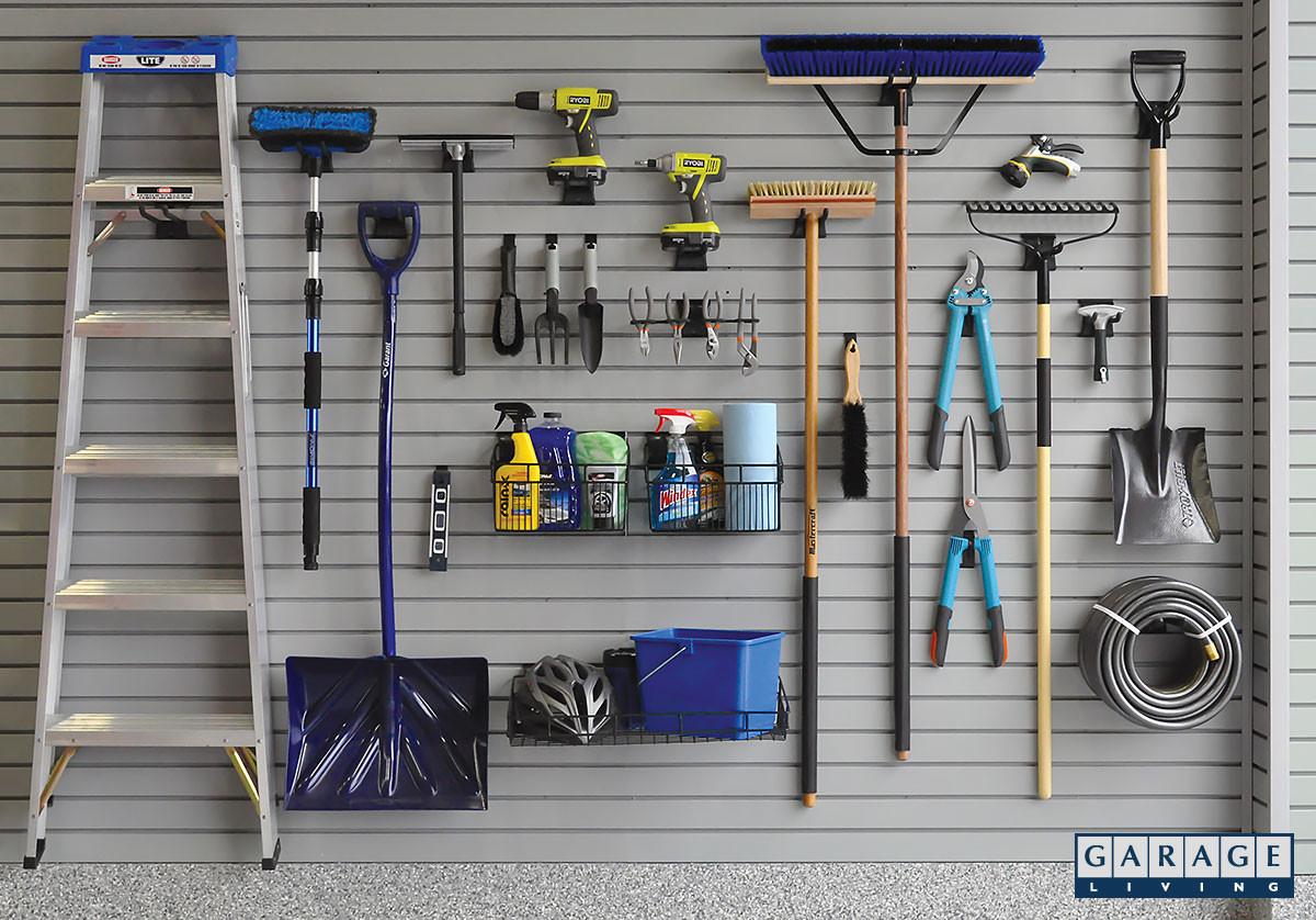 Garage Tool Organizer  Garage Workshop Ideas for Creating a Versatile Organized