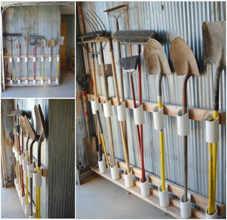 Garage Tool Organizer  10 DIY home storage ideas