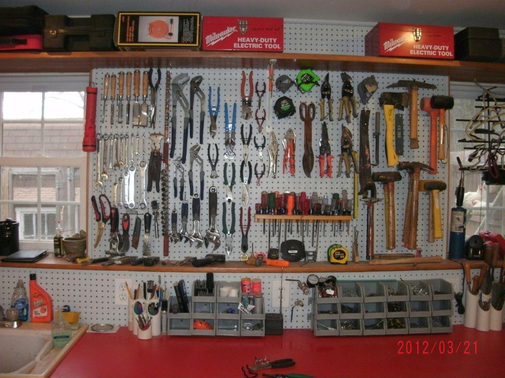 Garage Tool Organizer  garage organization