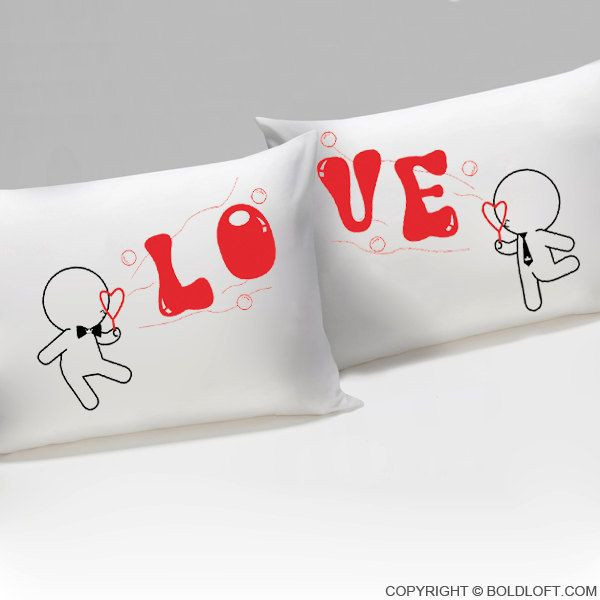 Gay Valentines Gift Ideas  My Love is Yours His and His Pillowcases Gay Couples Gifts