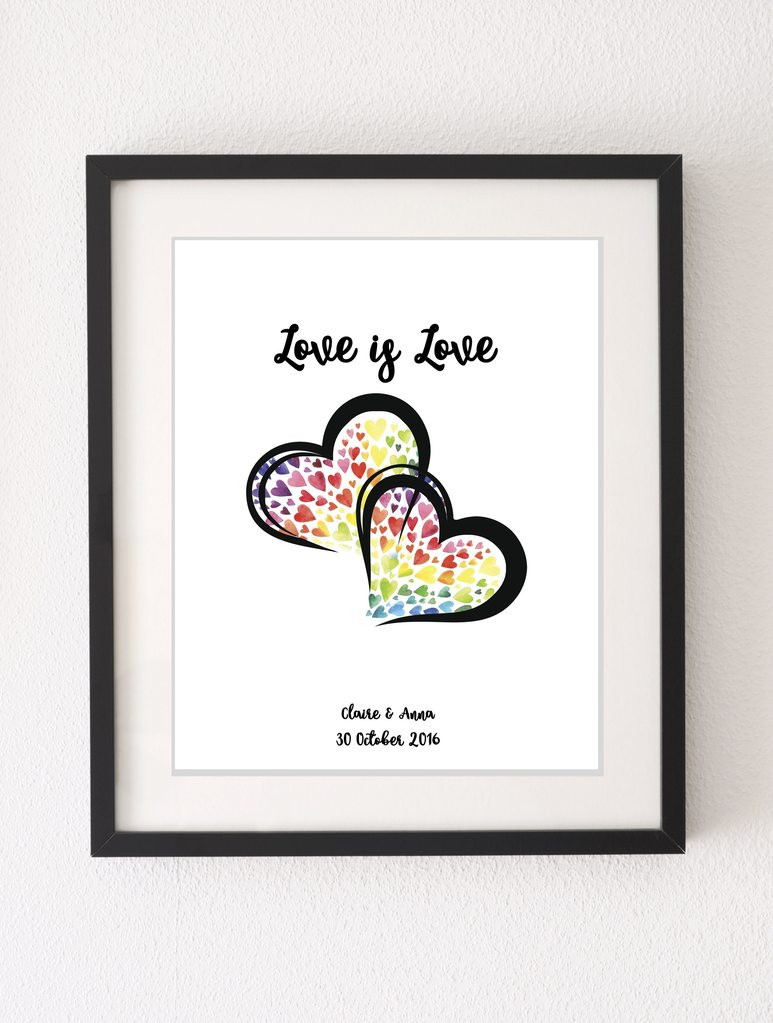 Gay Valentines Gift Ideas  lesbian valentines day ideas custom anniversary ts