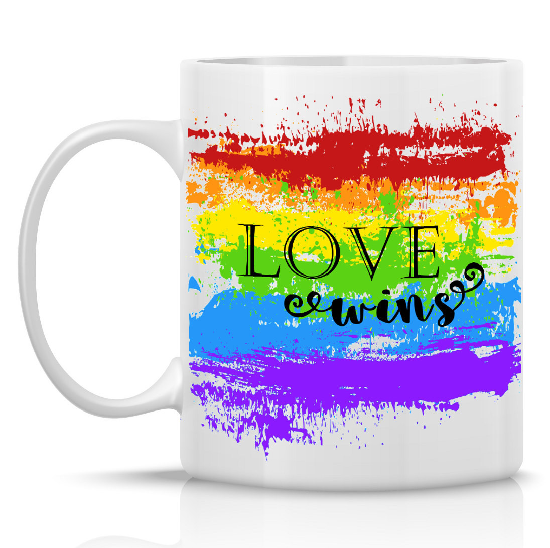 Gay Valentines Gift Ideas  Lesbian Gifts Gay Pride Mug Lesbian Gift Ideas by HumerusWares